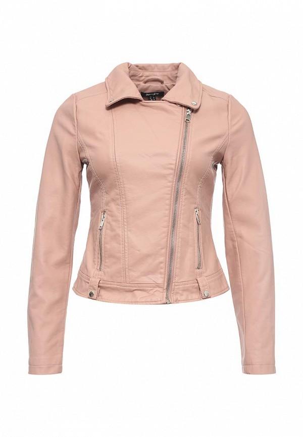 Куртка кожаная Jennyfer. Цвет: розовый