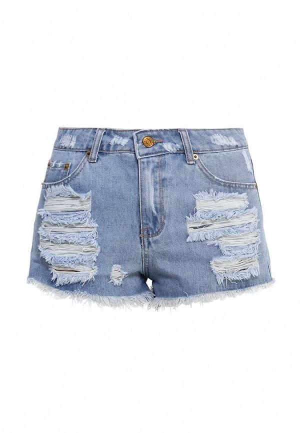 Женские джинсовые шорты Jennyfer (Дженнифер) DE1SFAMEF