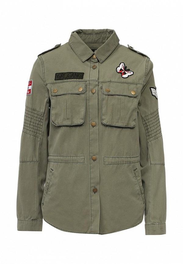 Купить Куртку Jennyfer цвета хаки