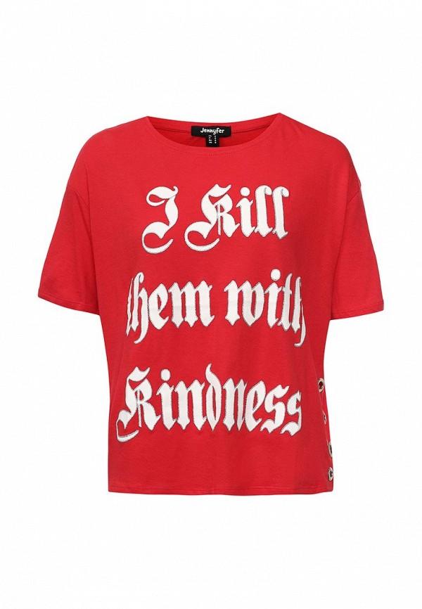 Футболка Jennyfer Jennyfer JE008EWRYB96  футболка jennyfer jennyfer je008ewryb96