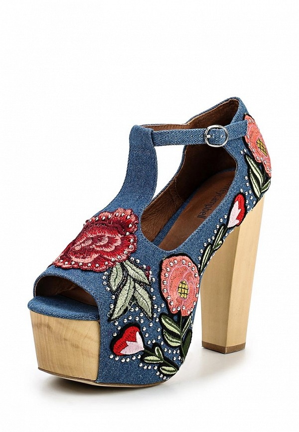 Босоножки Jeffrey Campbell FOXY DENIM
