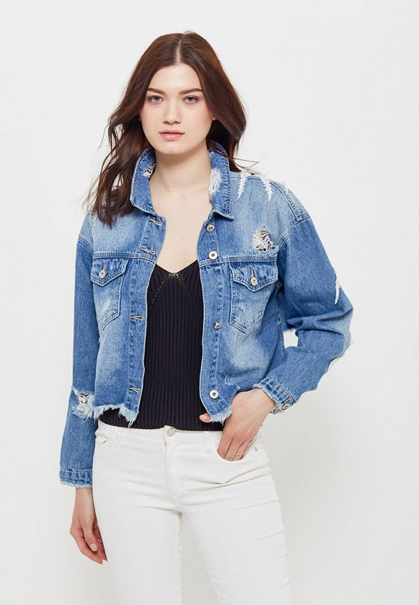 Куртка джинсовая Jean Louis Francois Jean Louis Francois JE017EWATWF8 кардиган jean louis francois jean louis francois je017ewauso6