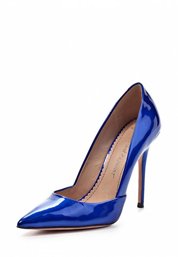 Туфли Jean-Michel Cazabat JE127AWFP057. Цвет: синий