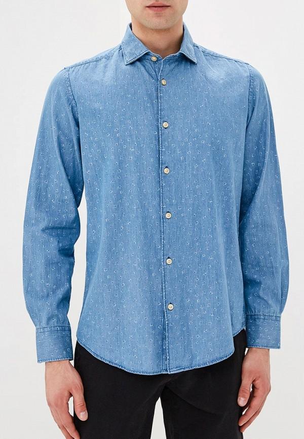 Фото Рубашка джинсовая J. Hart & Bros. Купить с доставкой