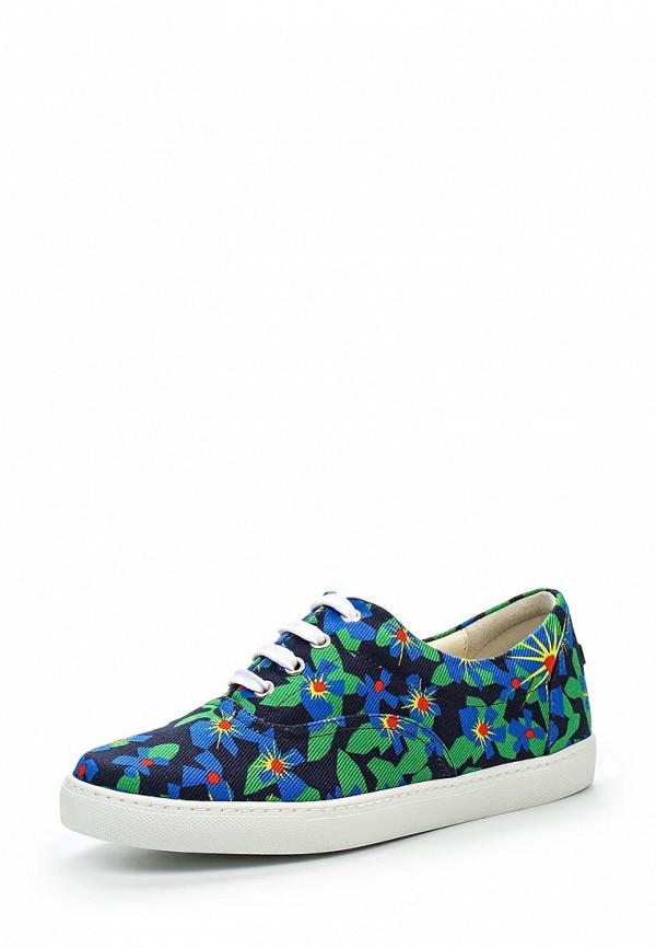 Купить женские кеды Jil Sander Navy разноцветного цвета