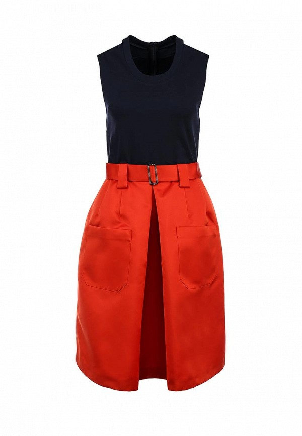 Платье-миди Jil Sander Navy JDE419CJE089B