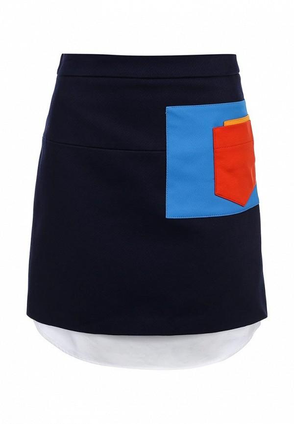 Прямая юбка Jil Sander Navy JDE107CJE003B