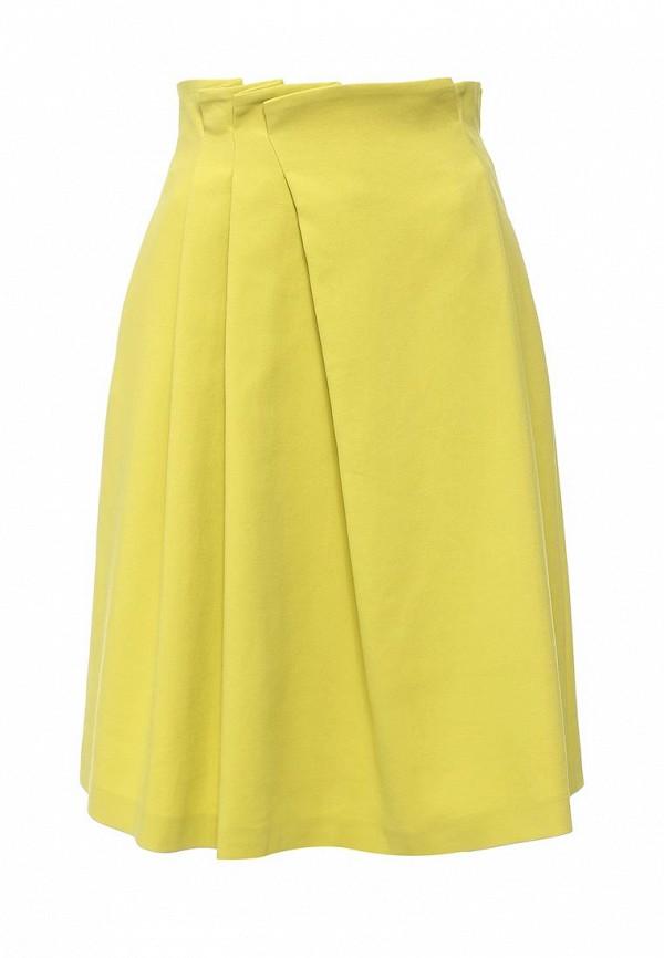 Фото - женскую юбку Jil Sander Navy желтого цвета