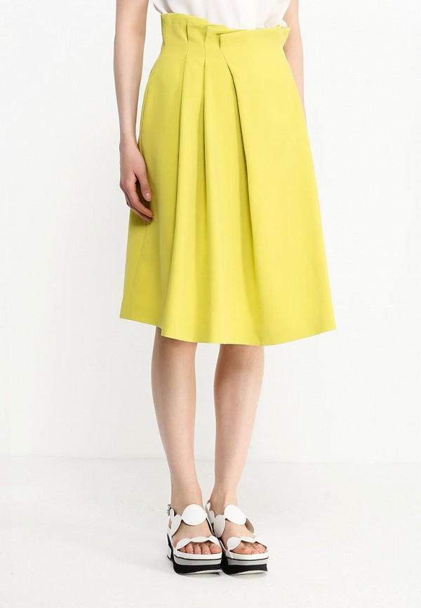Фото 3 - женскую юбку Jil Sander Navy желтого цвета
