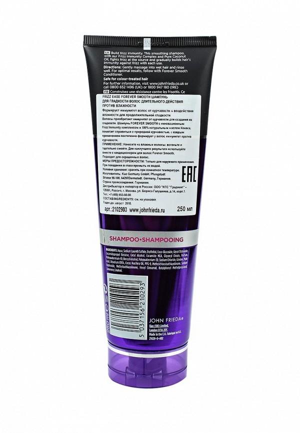 Шампунь John Frieda Frizz Ease FOREVER SMOOTH для гладкости волос длительного действия против влажности, 250 мл