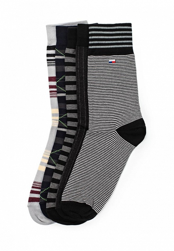 Комплект носков 5 пар John Jeniford John Jeniford JO013FMTGW26 комплект носков 5 пар ecko цвет черный