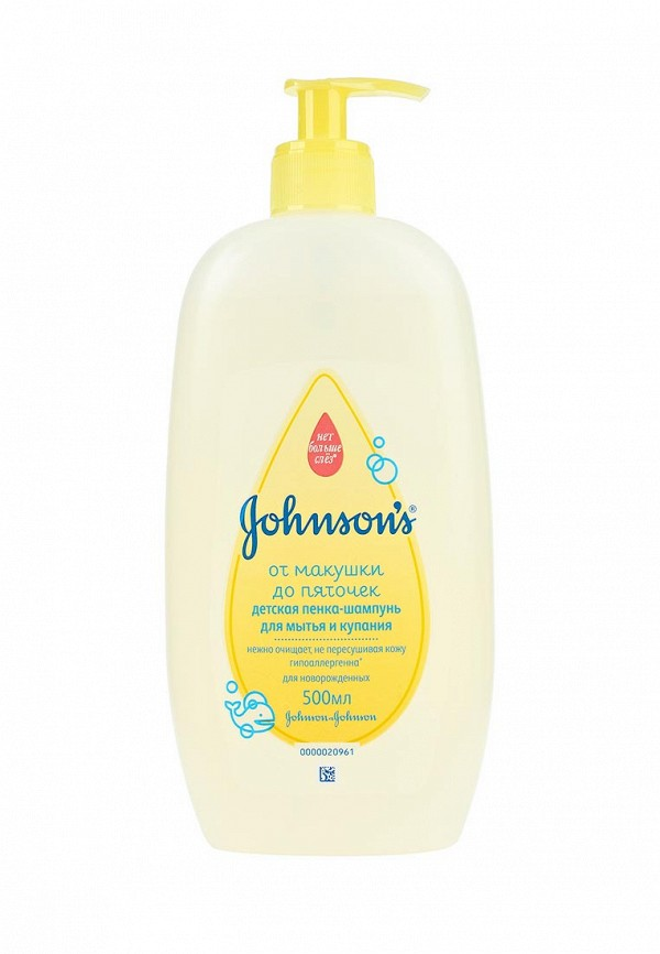Пенка-шампунь Johnson & Johnson Johnson & Johnson JO023LKNWB53 johnson