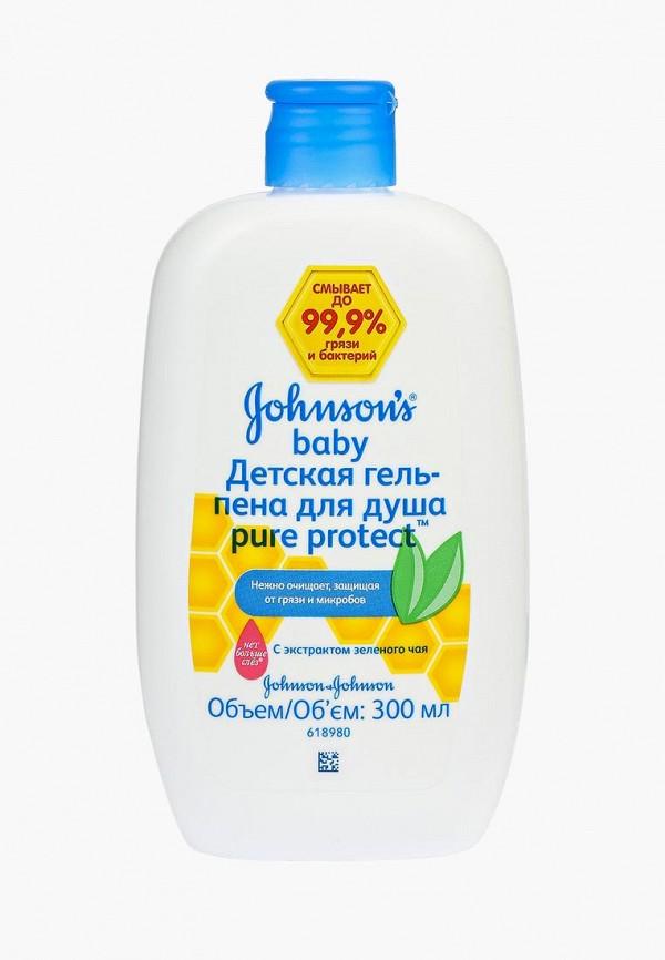 Купить Гель для купания Johnson & Johnson, Johnson's baby Pure Protect Детская для душа антибактериальная, 300 мл, JO023LKNWB75, Весна-лето 2018