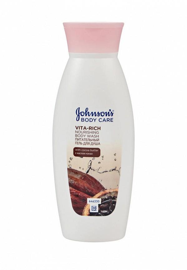 Купить Гель для душа Johnson & Johnson, Johnson's Body Care VITA-RICH с Маслом Какао Питательный, 250 мл, JO023LKZKF89, белый, Весна-лето 2018