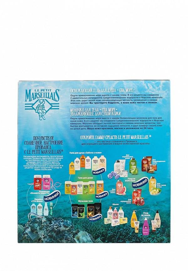 Набор Johnson  Johnson Le Petit Marseillais  Молочко для тела СПА Море увлажняющее для сухой кожи 250 мл, Освежающий гель для душа СПА Море 250 мл