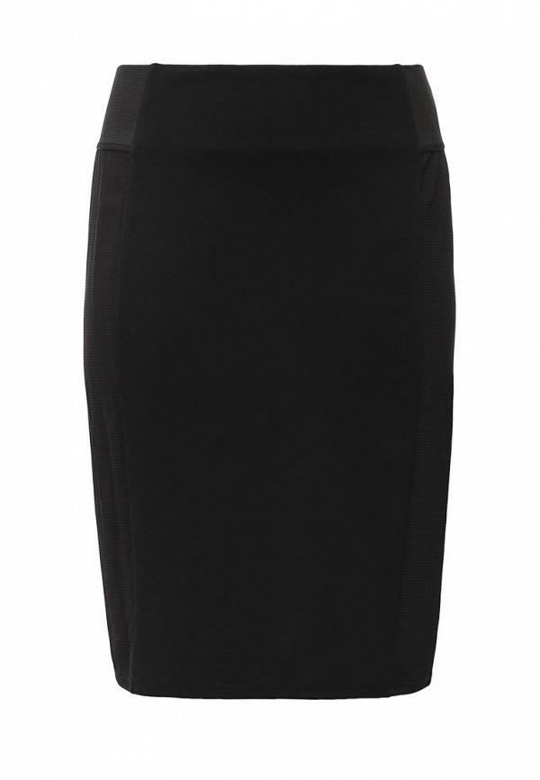 Черная юбка JUNAROSE
