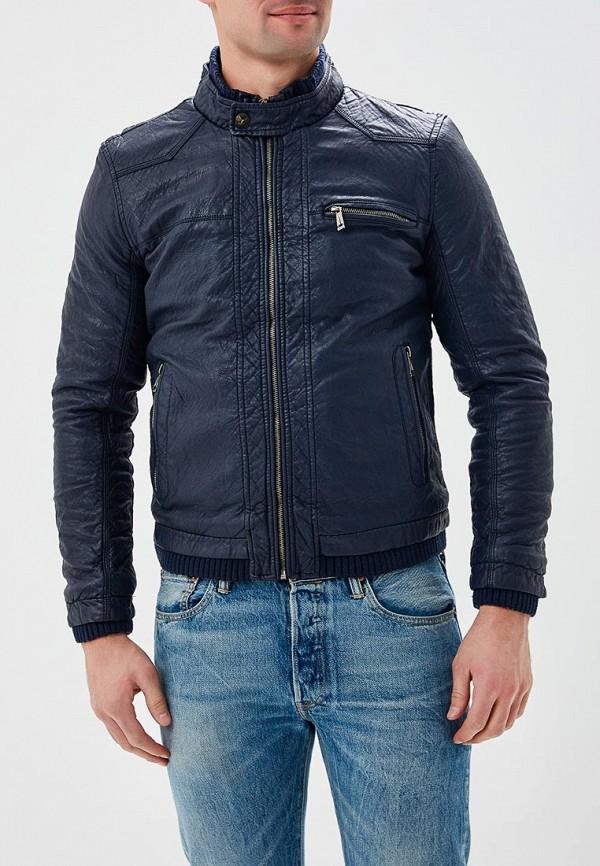 Купить Куртка кожаная Justboy, JU012EMAUIX8, синий, Весна-лето 2018