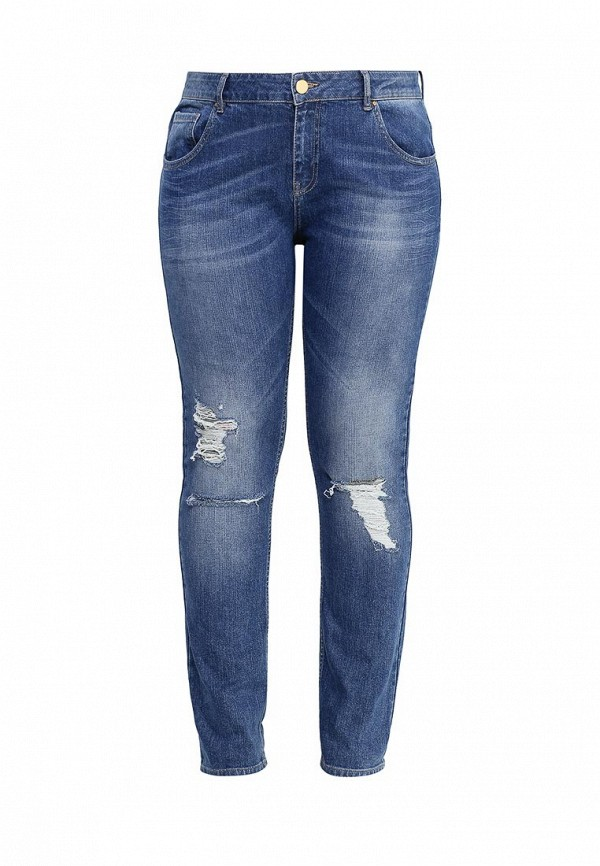 Джинсы Just Joan STRAIGHT LEG IN MID WASH WITH DISTRESSING