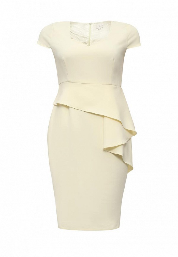 Платье Just Joan PENCIL DRESS WITH FRILL SKIRT