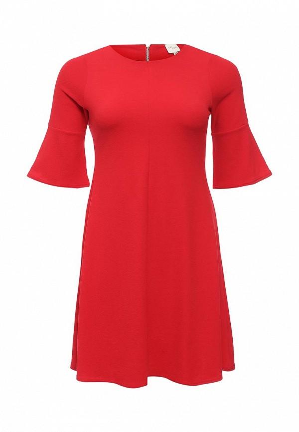 Платье Just Joan SWING DRESS WITH FRILL SLEEVE