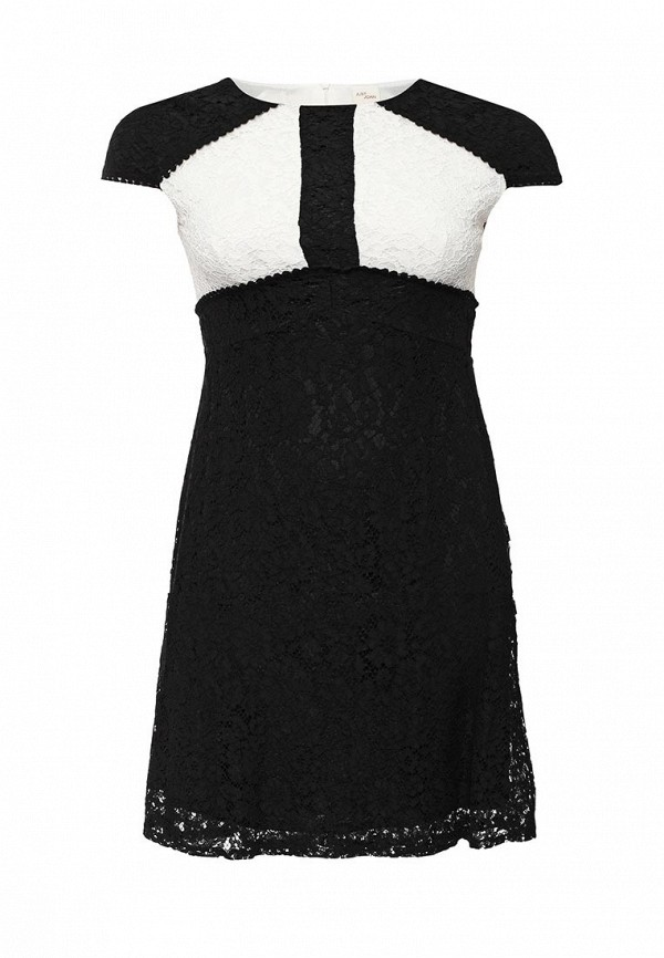 Платье Just Joan SKATER DRESS WITH LACE INSERTS