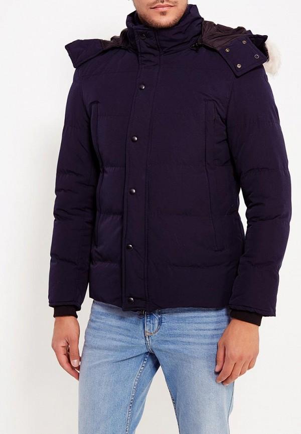 Купить Куртка утепленная Just Key, JU016EMXNX43, синий, Осень-зима 2017/2018