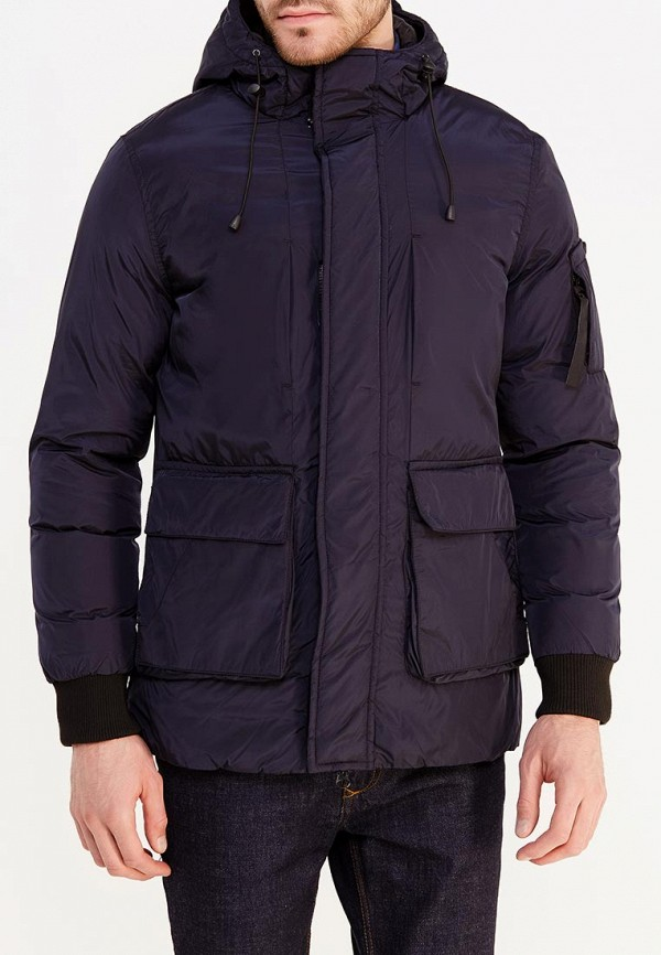 Купить Куртка утепленная Just Key, JU016EMXNX46, синий, Осень-зима 2017/2018