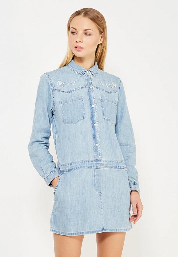 цена Платье джинсовое Juicy by Juicy Couture Juicy by Juicy Couture JU018EWWCV27 онлайн в 2017 году