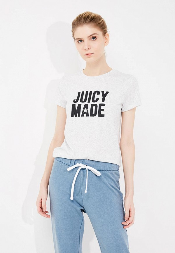 цена Футболка Juicy by Juicy Couture Juicy by Juicy Couture JU018EWZHY46 онлайн в 2017 году