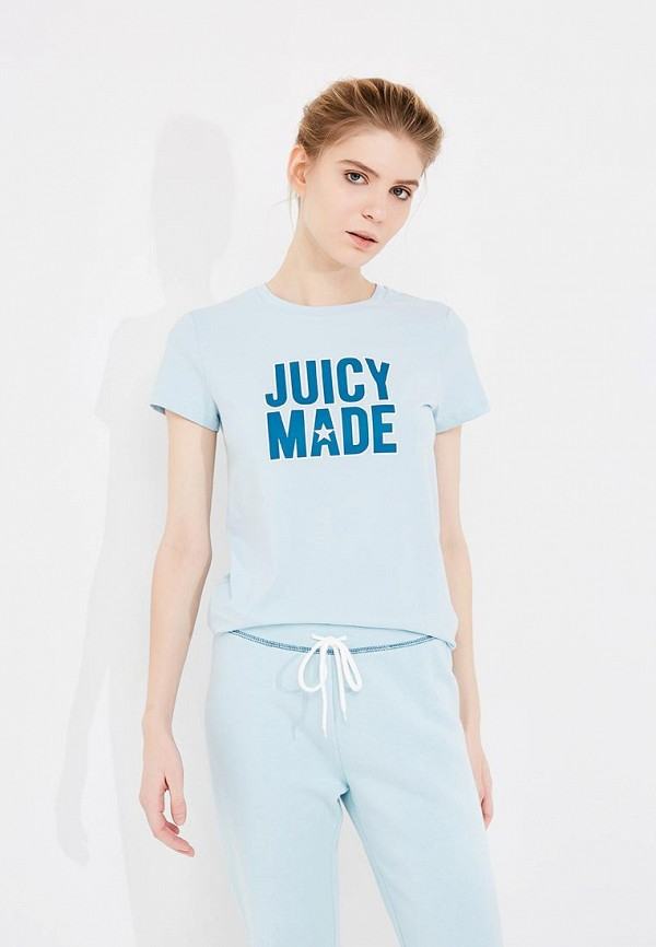 Футболка Juicy by Juicy Couture Juicy by Juicy Couture JU018EWZHY47 moschino couture сандалии