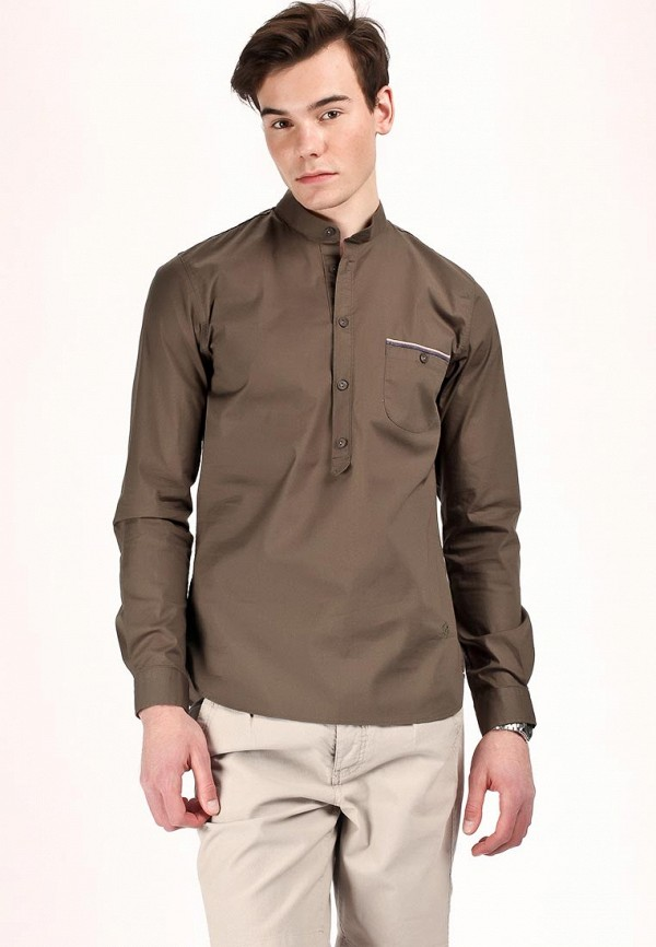 Рубашка Junk de Luxe JU661EMBL739. Цвет: зеленый