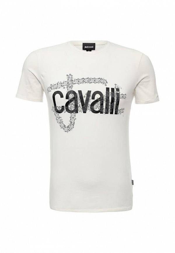Футболка с надписями Just Cavalli s01gc0344N20543