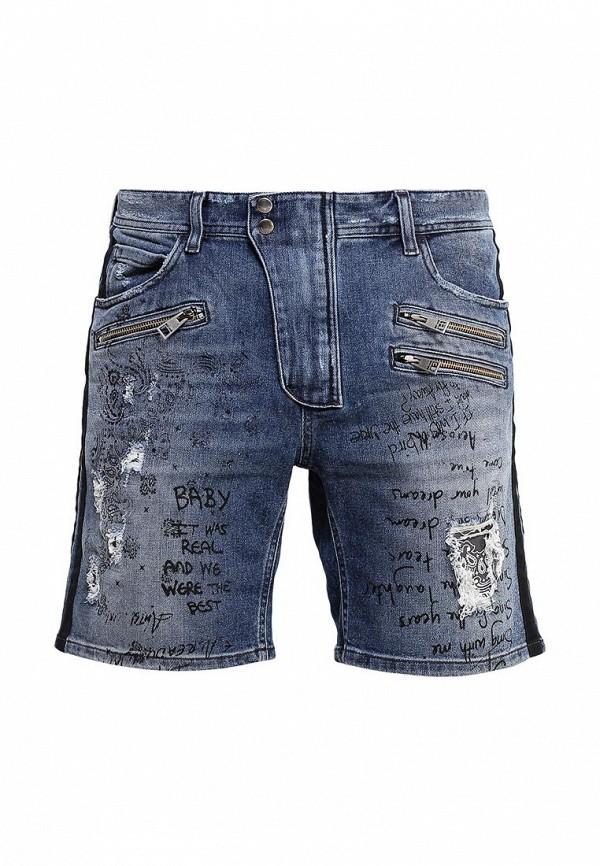 Мужские джинсовые шорты Just Cavalli S01MU0026