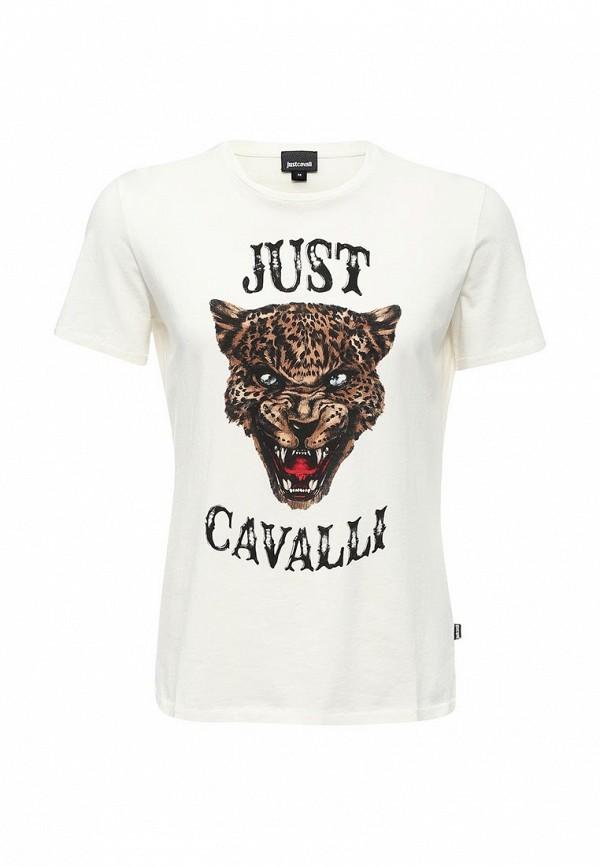 цена  Футболка Just Cavalli Just Cavalli JU662EMTGK78  онлайн в 2017 году