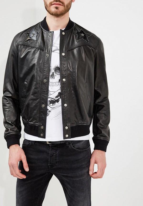 Фото Куртка кожаная Just Cavalli. Купить с доставкой