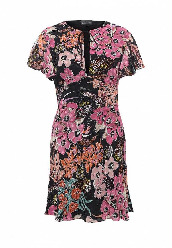 цена Платье Just Cavalli Just Cavalli JU662EWOOT76 онлайн в 2017 году