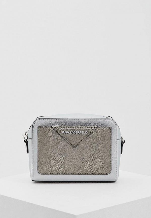 Сумка Karl Lagerfeld Karl Lagerfeld KA025BWAUOR6 сумка karl lagerfeld коричневый