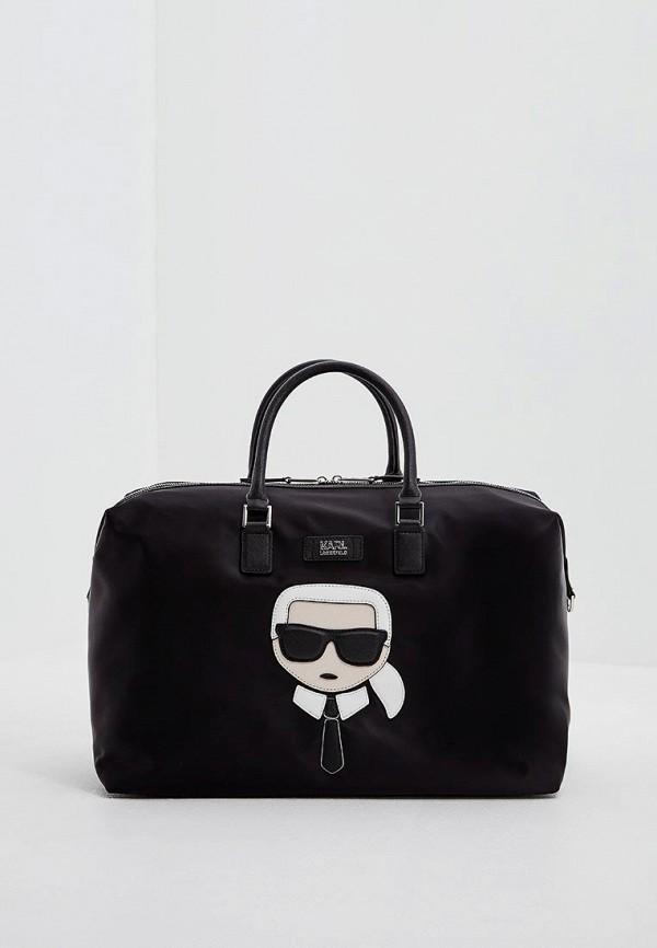 Сумка дорожная Karl Lagerfeld Karl Lagerfeld KA025BWAUOW4 сумка karl lagerfeld коричневый