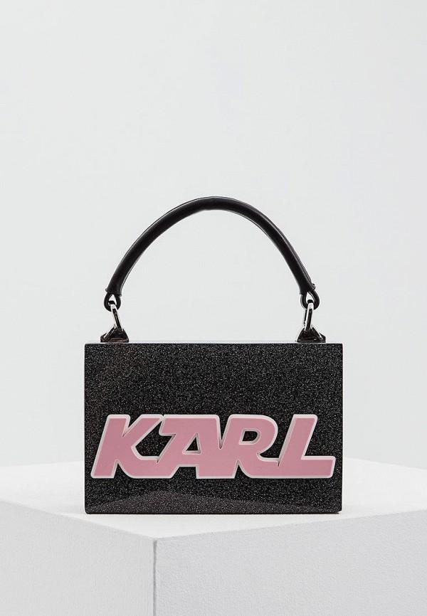 Клатч Karl Lagerfeld Karl Lagerfeld KA025BWAUOW9 митенки karl lagerfeld karl lagerfeld ka025dwygv31