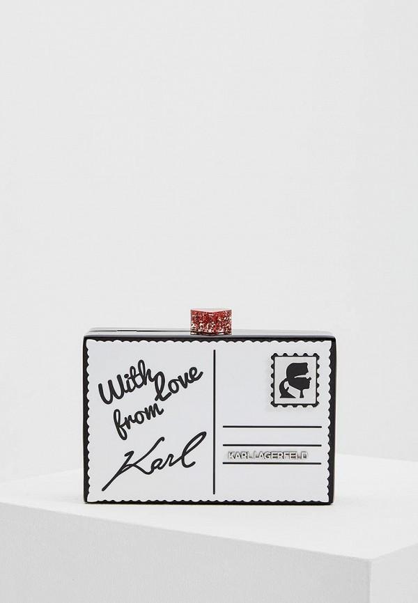 Клатч Karl Lagerfeld Karl Lagerfeld KA025BWAUOX0