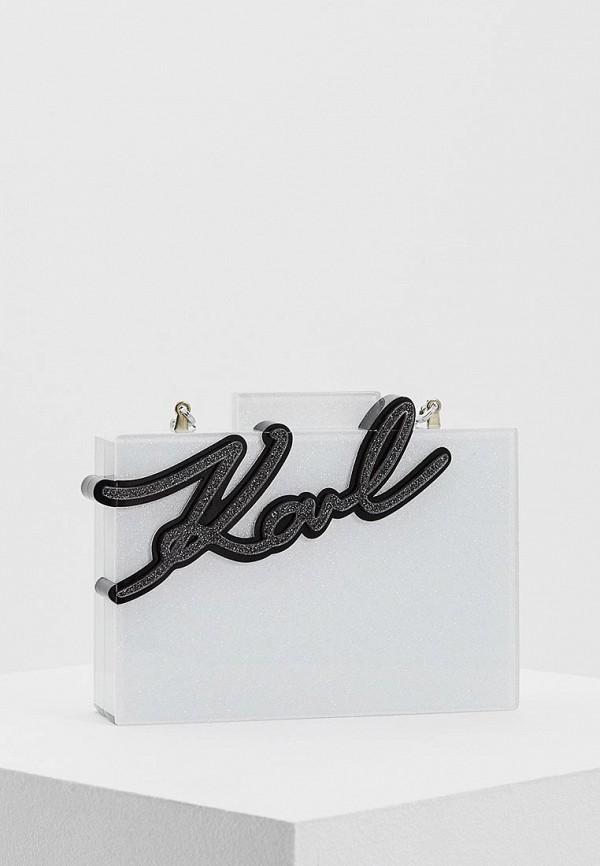 Клатч Karl Lagerfeld Karl Lagerfeld KA025BWAUOX4 митенки karl lagerfeld karl lagerfeld ka025dwygv31