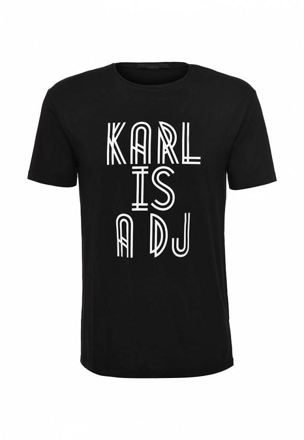 Футболка с надписями Karl Lagerfeld 557212