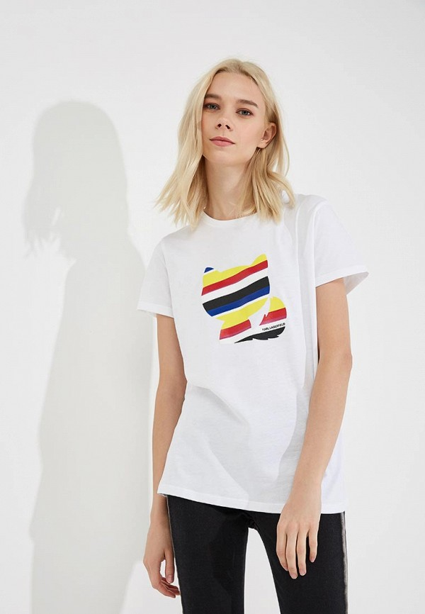 Фото Футболка Karl Lagerfeld. Купить с доставкой