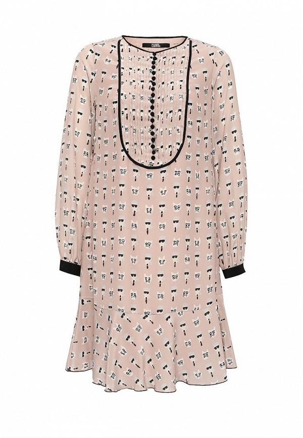Платье-миди Karl Lagerfeld 67KW1300
