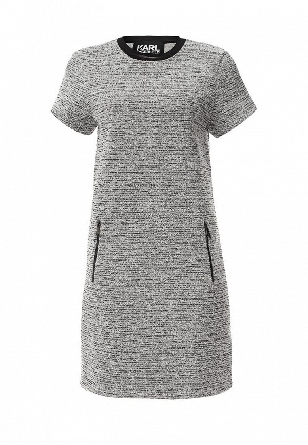 Платье-миди Karl Lagerfeld 66KW1317