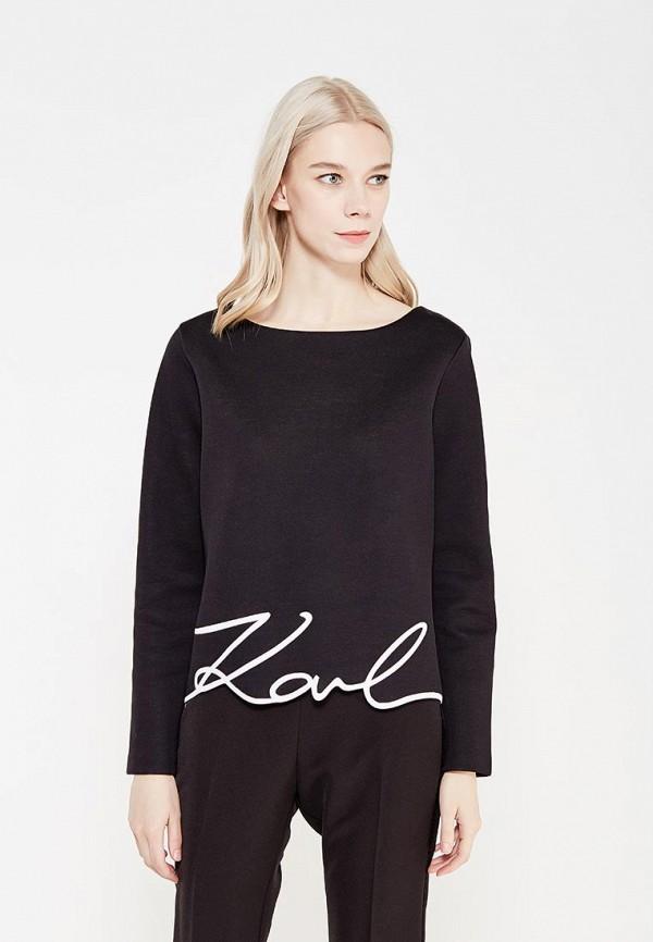 Свитшот Karl Lagerfeld Karl Lagerfeld KA025EWUST39 клатч karl lagerfeld черный