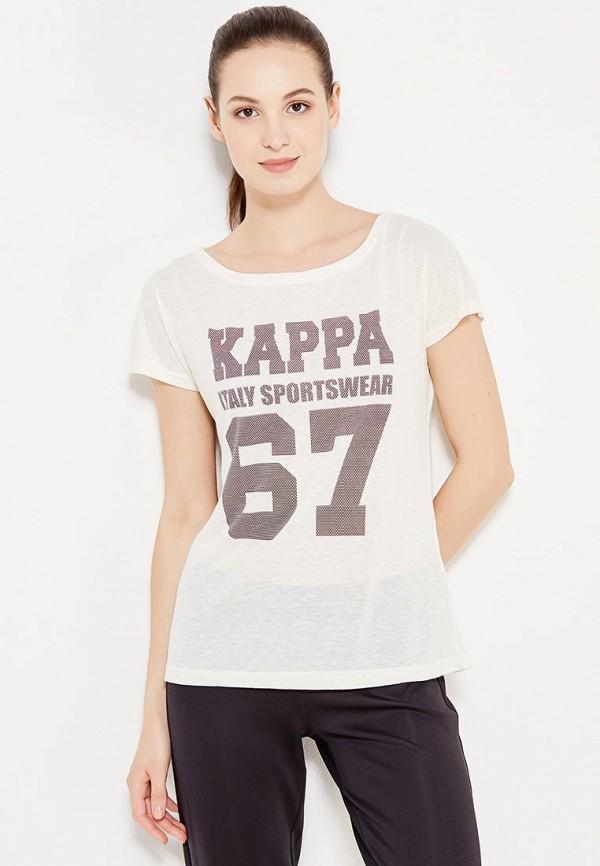 Футболка Kappa Kappa KA039EWWJE28 свитшот kappa kappa ka039ewwje39