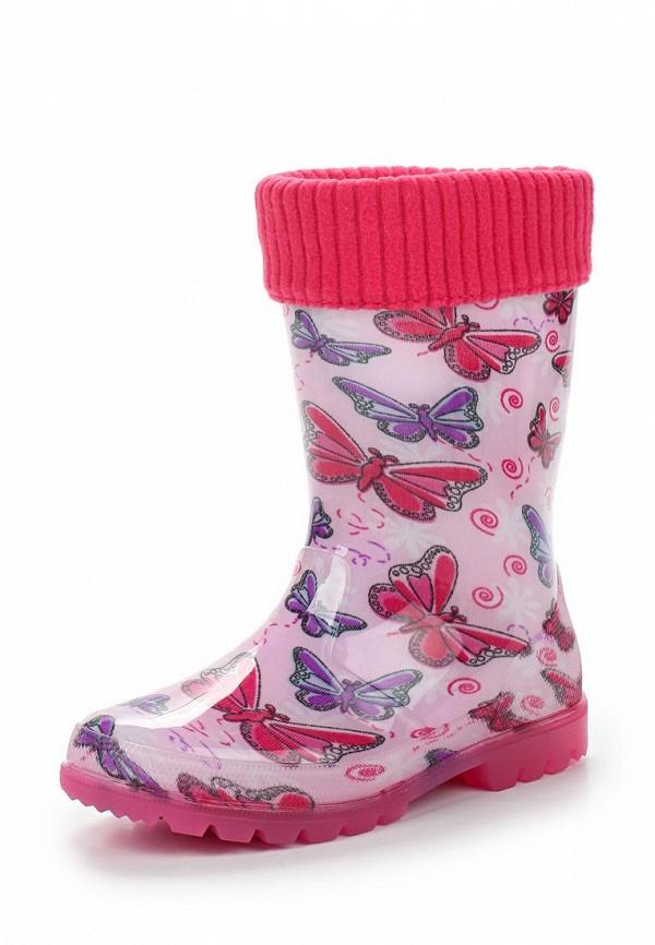 Резиновые сапоги Kapika цвет розовый сезон весна, демисезон, лето страна Китай размер 35