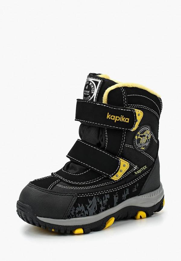 Фото - Ботинки Kapika черного цвета