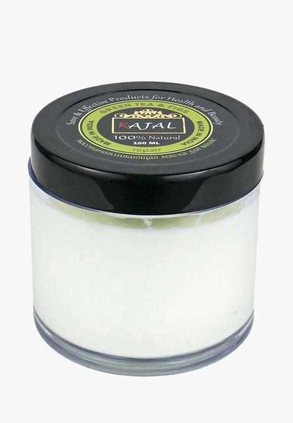 Купить Маска для волос Kajal, Восстанавливающая травяная Зеленый чай и Инжир , 100 мл, KA041LWAYPJ2, прозрачный, Весна-лето 2018